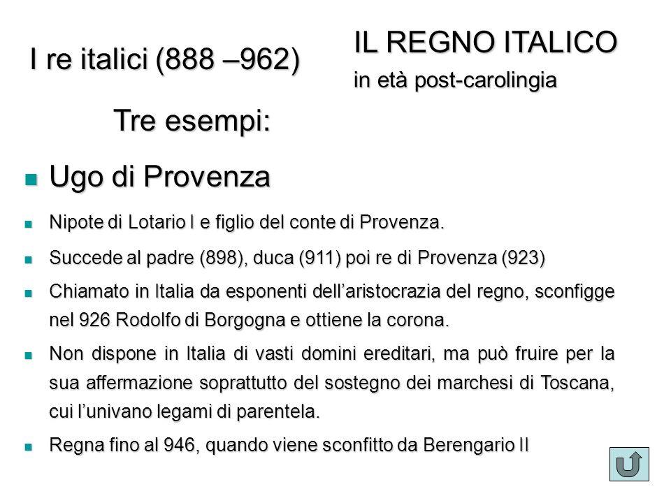 Ugo di Provenza Ugo di Provenza Nipote di Lotario I e figlio del conte di Provenza.