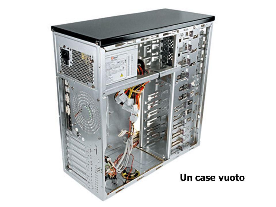 Hardware: esempi di case PowerMac G4 Silicon Graphics Tezro Case generico per Pc Il case (o cabinet) è il contenitore, linvolucro in cui vengono monta