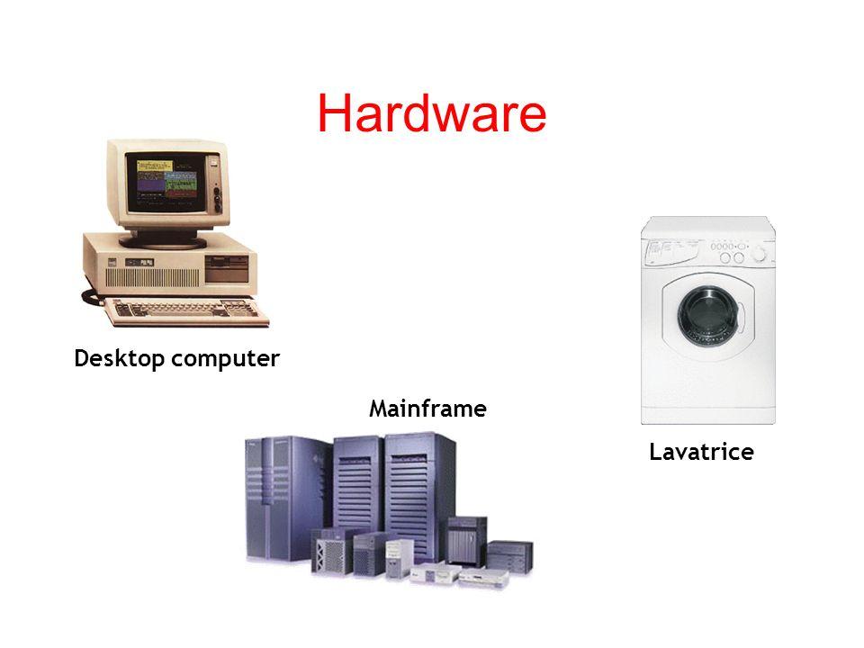 Hardware Lhardware è la parte che si può prendere a calci; il software quella contro cui si può solo imprecare. HARDWARE Il termine hardware è riferit