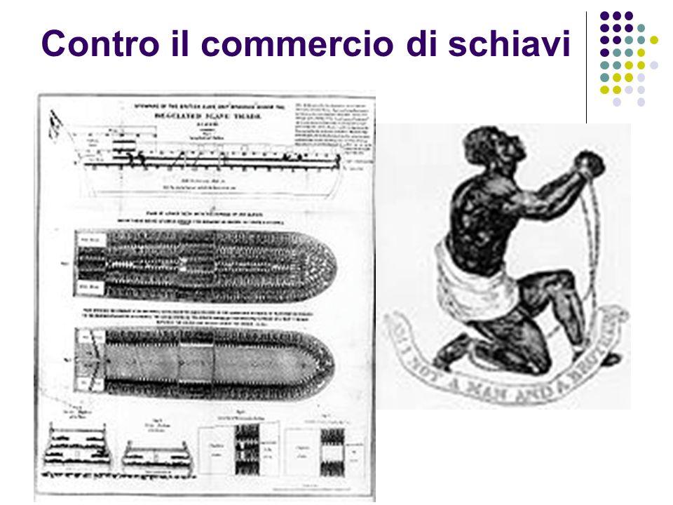 Contro il commercio di schiavi