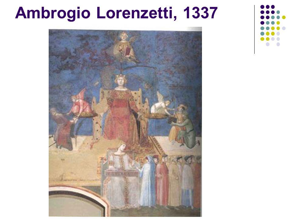 Ambrogio Lorenzetti, 1337