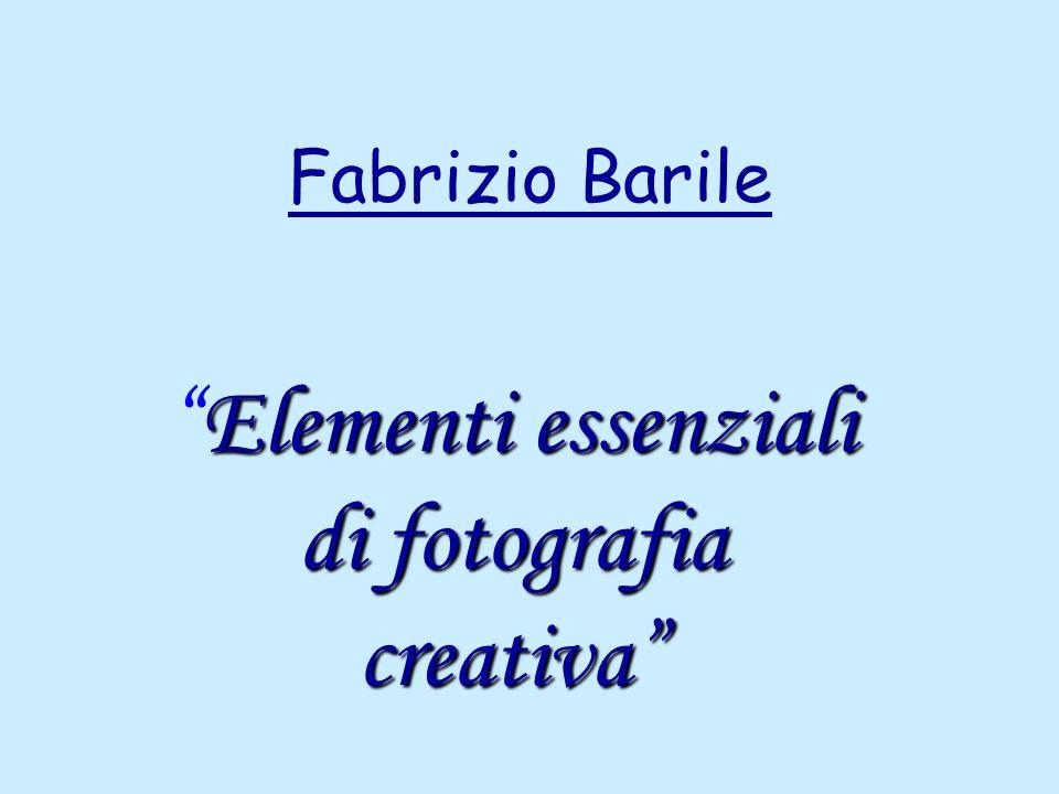 Fabrizio Barile Elementi essenziali di fotografia creativaElementi essenziali di fotografia creativa