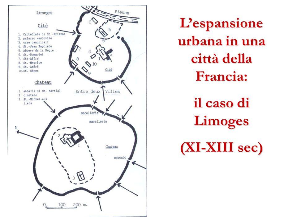 Lespansione urbana in una città della Francia: il caso di Limoges (XI-XIII sec)