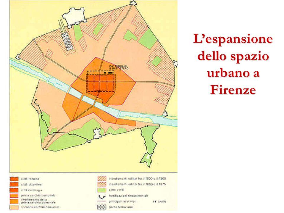 Lespansione dello spazio urbano a Firenze