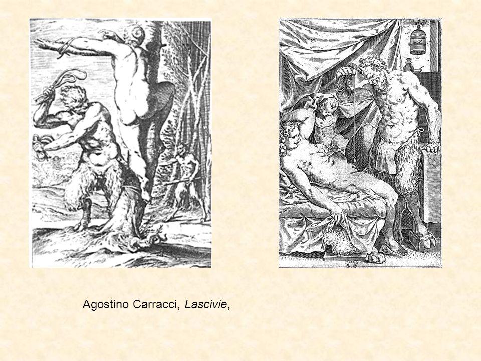 Agostino Carracci, Lascivie,
