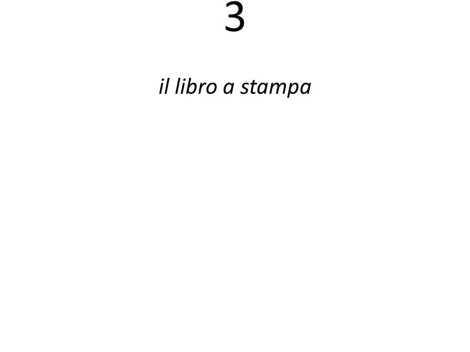 3 il libro a stampa