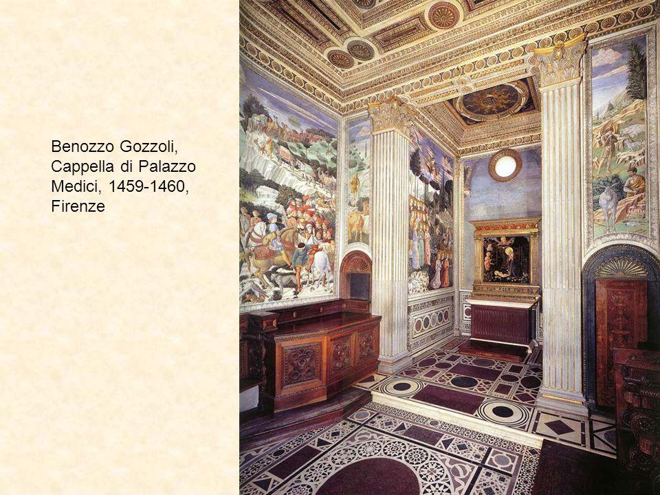 Benozzo Gozzoli, Adorazione dei Magi, Cappella di Palazzo Medici, 1459-1460, Firenze, dettagli