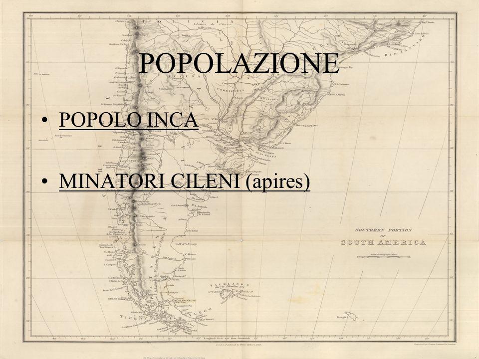 POPOLAZIONE POPOLO INCA MINATORI CILENI (apires)