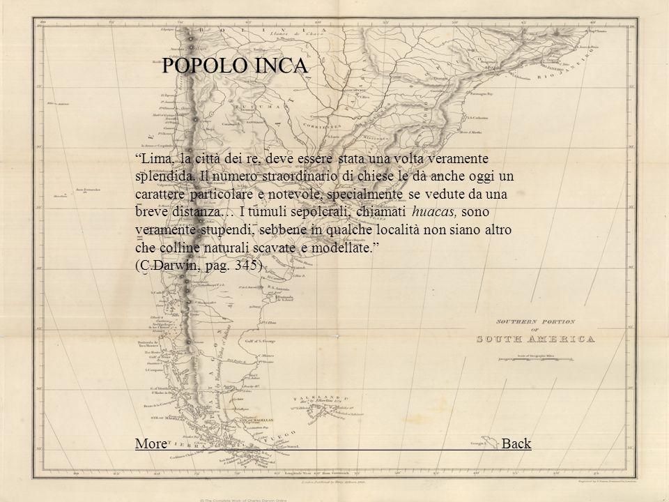 POPOLO INCA Lima, la città dei re, deve essere stata una volta veramente splendida. Il numero straordinario di chiese le dà anche oggi un carattere pa
