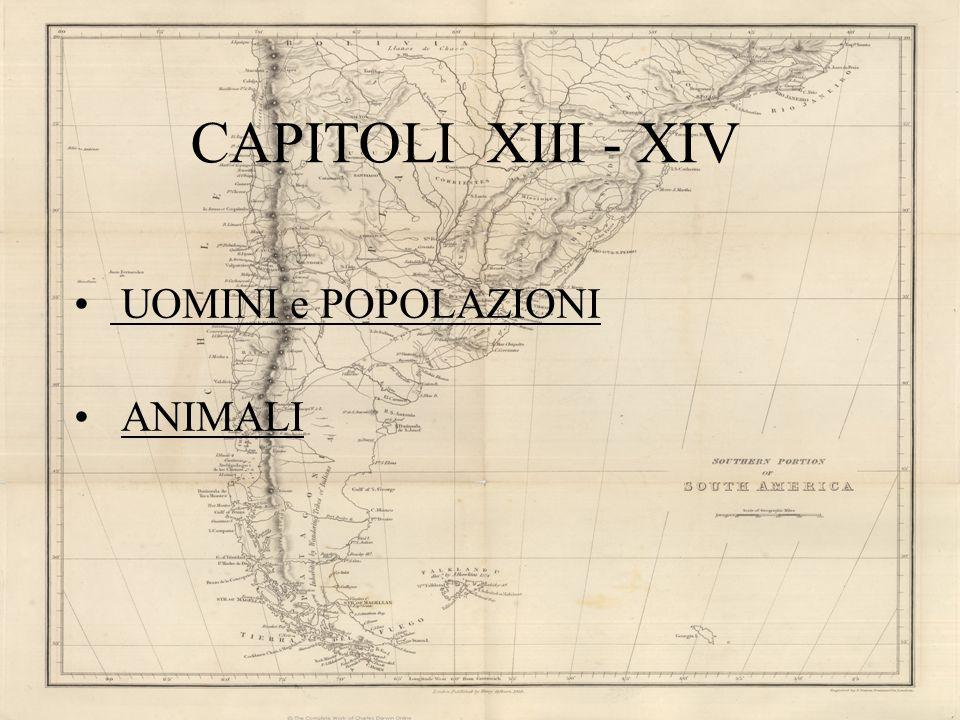 CAPITOLI XIII - XIV UOMINI e POPOLAZIONI ANIMALI
