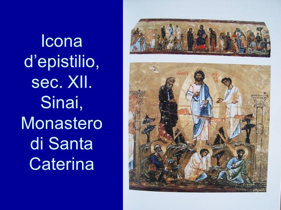 Icona depistilio, sec. XII. Sinai, Monastero di Santa Caterina