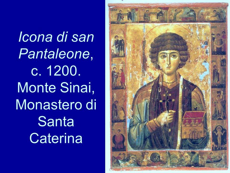 Icona di san Pantaleone, c. 1200. Monte Sinai, Monastero di Santa Caterina