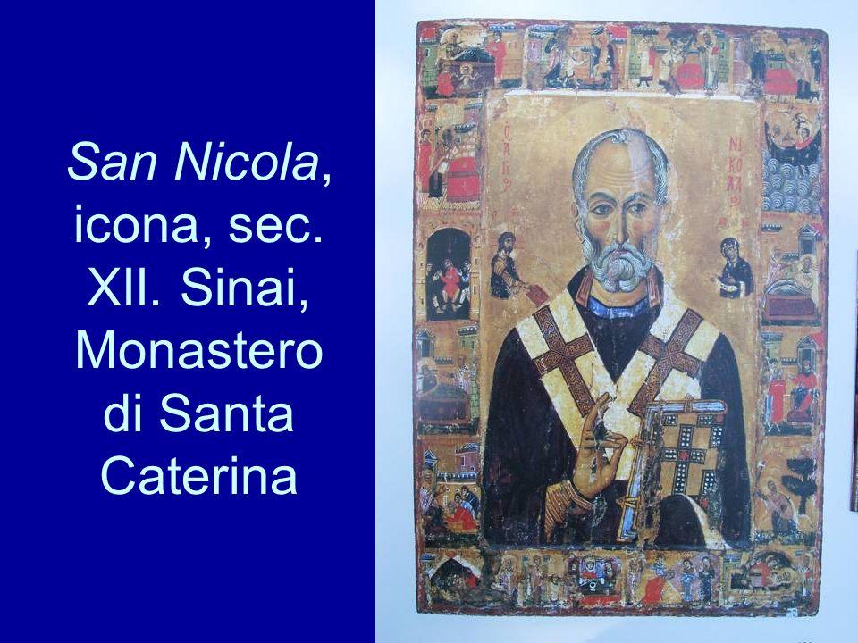 San Nicola, icona, sec. XII. Sinai, Monastero di Santa Caterina