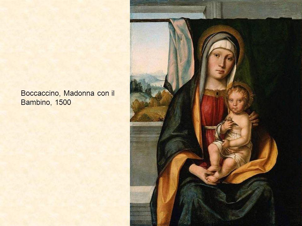 Boccaccino, Madonna con il Bambino, 1500