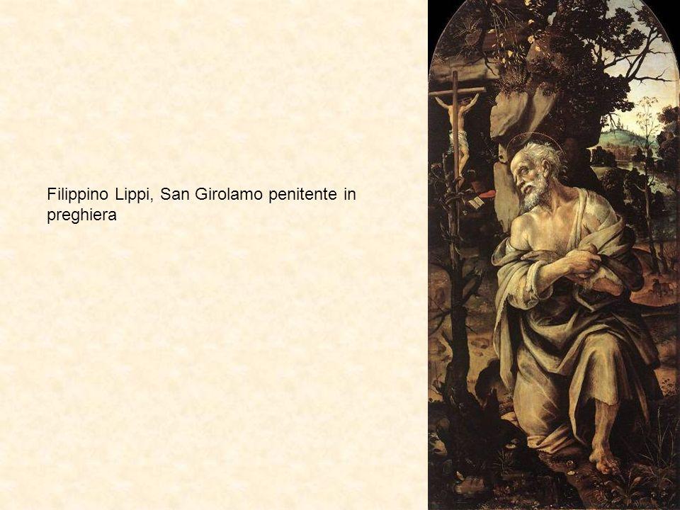 Filippino Lippi, San Girolamo penitente in preghiera
