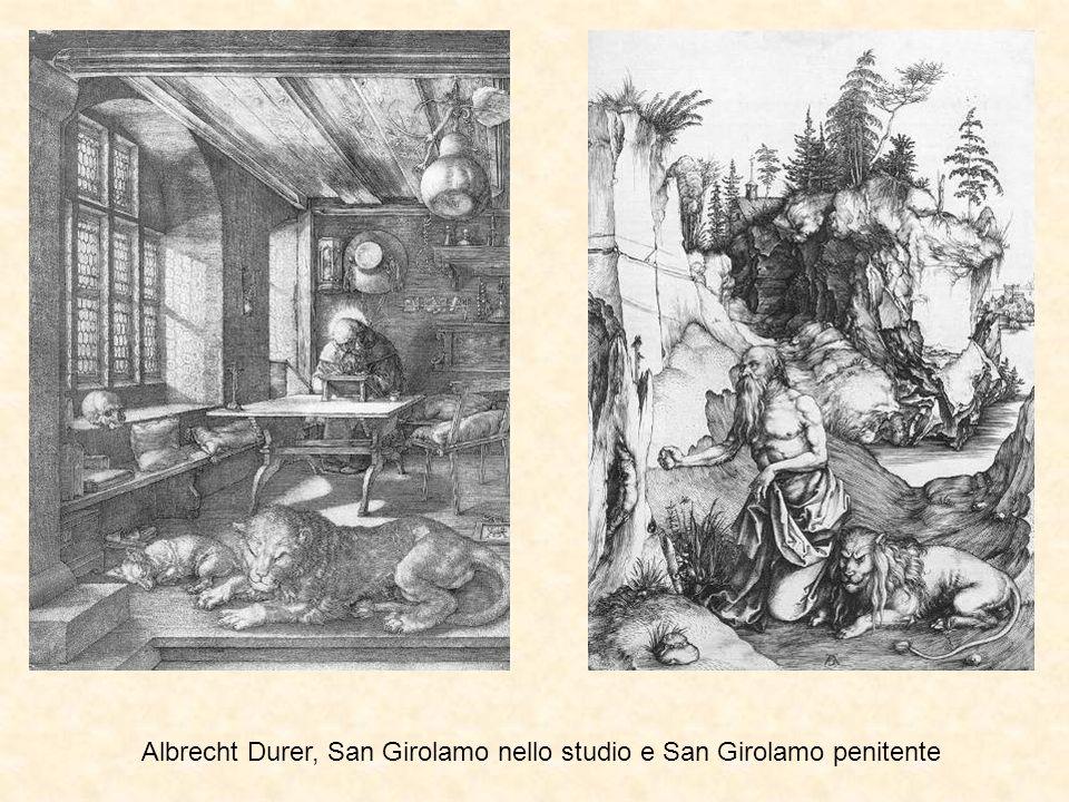 Albrecht Durer, San Girolamo nello studio e San Girolamo penitente