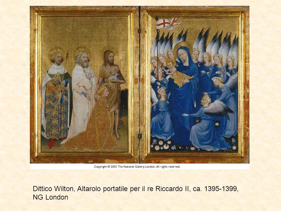 Dittico Wilton, Altarolo portatile per il re Riccardo II, ca. 1395-1399, NG London