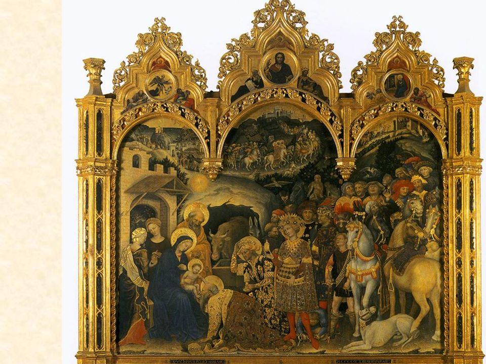 Natività: -Humiltà - Povertà -Iocundità Beato Angelico, Natività, Convento di San Marco, 1440ca.