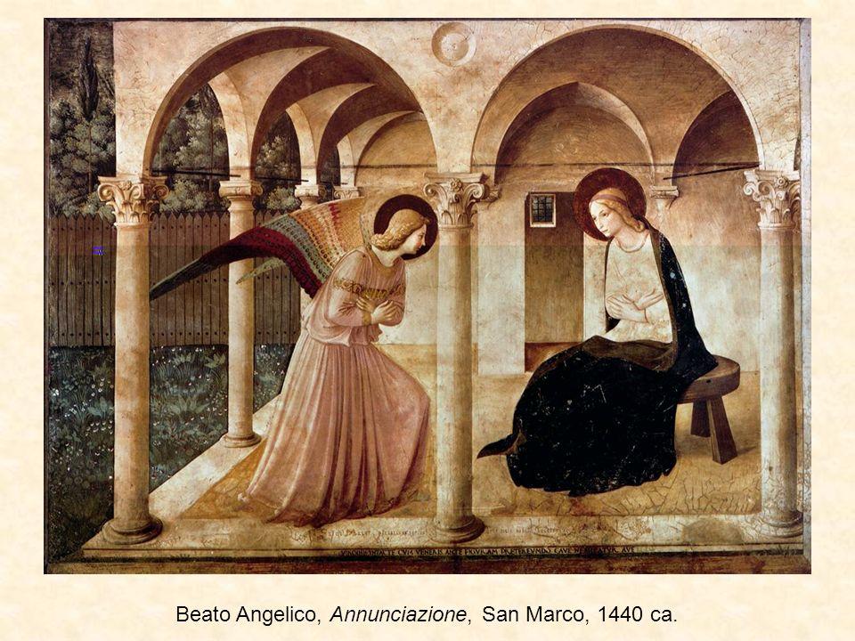 Beato Angelico, Annunciazione, San Marco, 1440 ca.