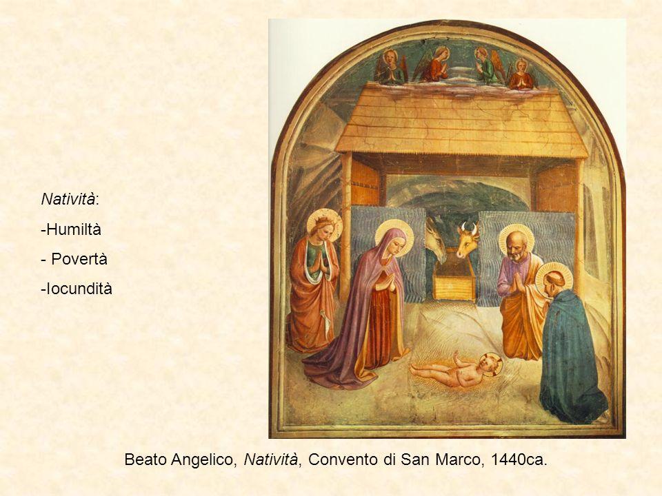 Pontormo, Visitazione, Carmignano, 1528-1529 Visitazione: 1.Benignità 2.Maternità 3.Laudabilità