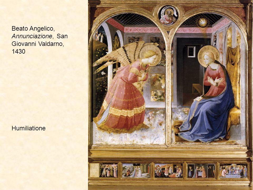 Beato Angelico, Annunciazione, Prado, 1430