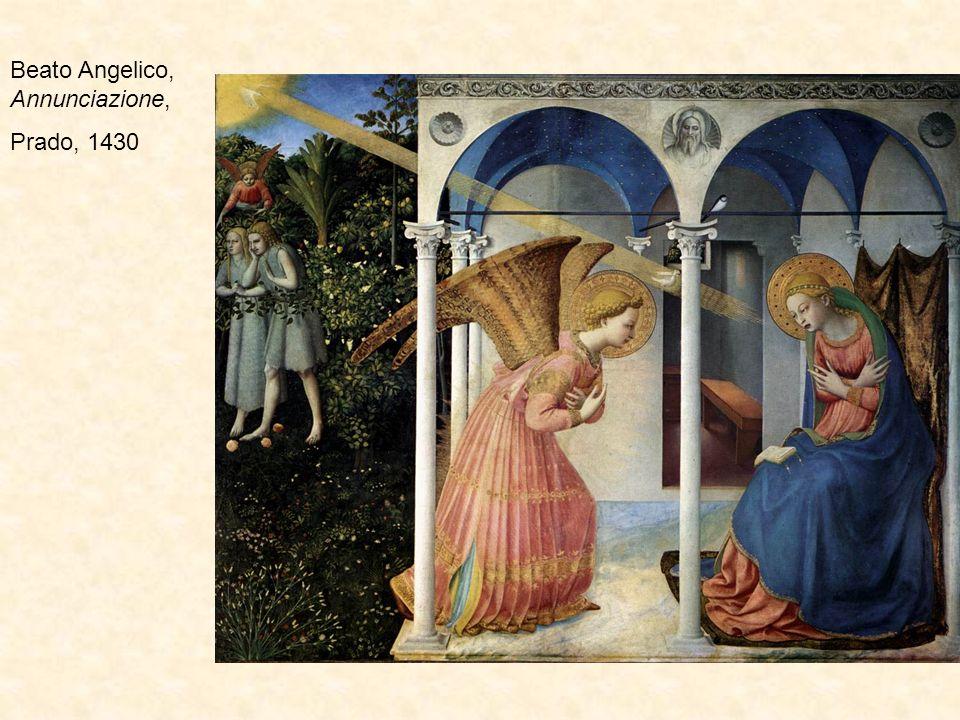 Beato Angelico, Annunciazione, Cortona, 1433