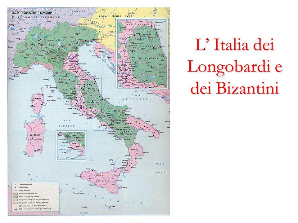 L Italia dei Longobardi e dei Bizantini
