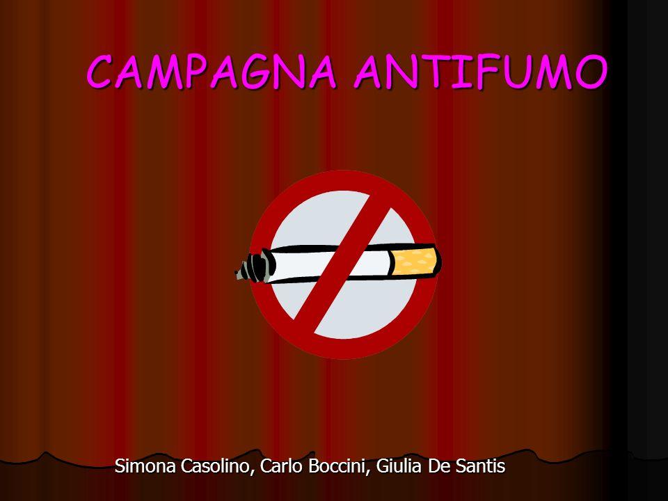 CAMPAGNA ANTIFUMO Simona Casolino, Carlo Boccini, Giulia De Santis
