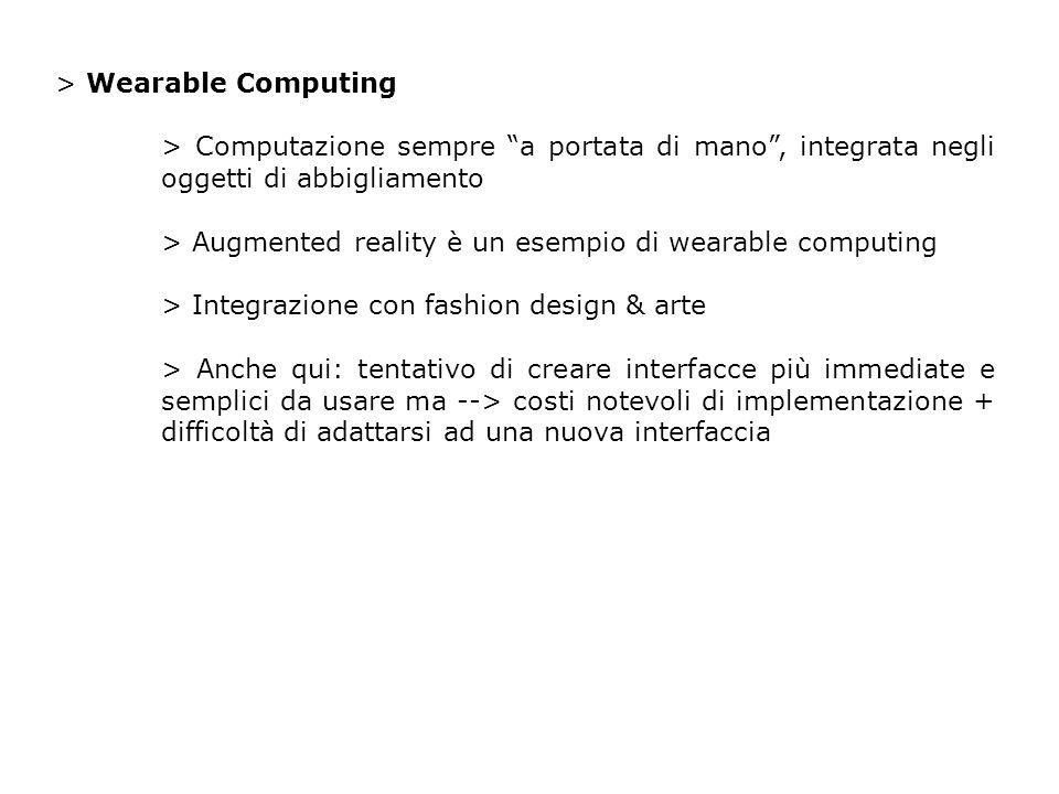 > Interazione utente-tecnologia utente-computazione vs diversi utenti-computazione