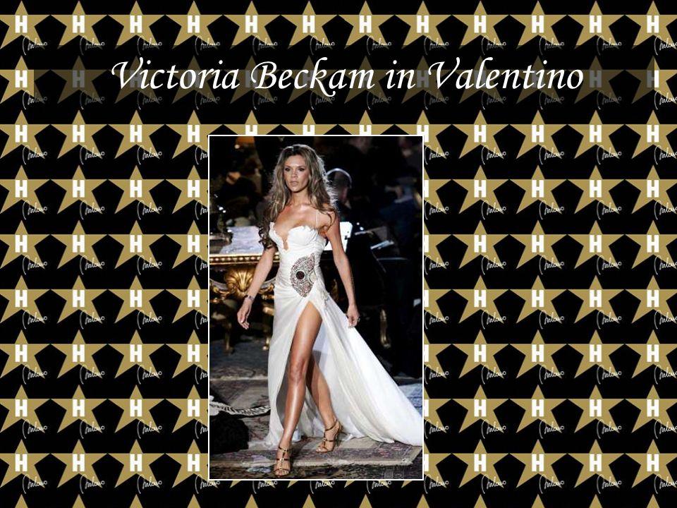 Victoria Beckam in Valentino