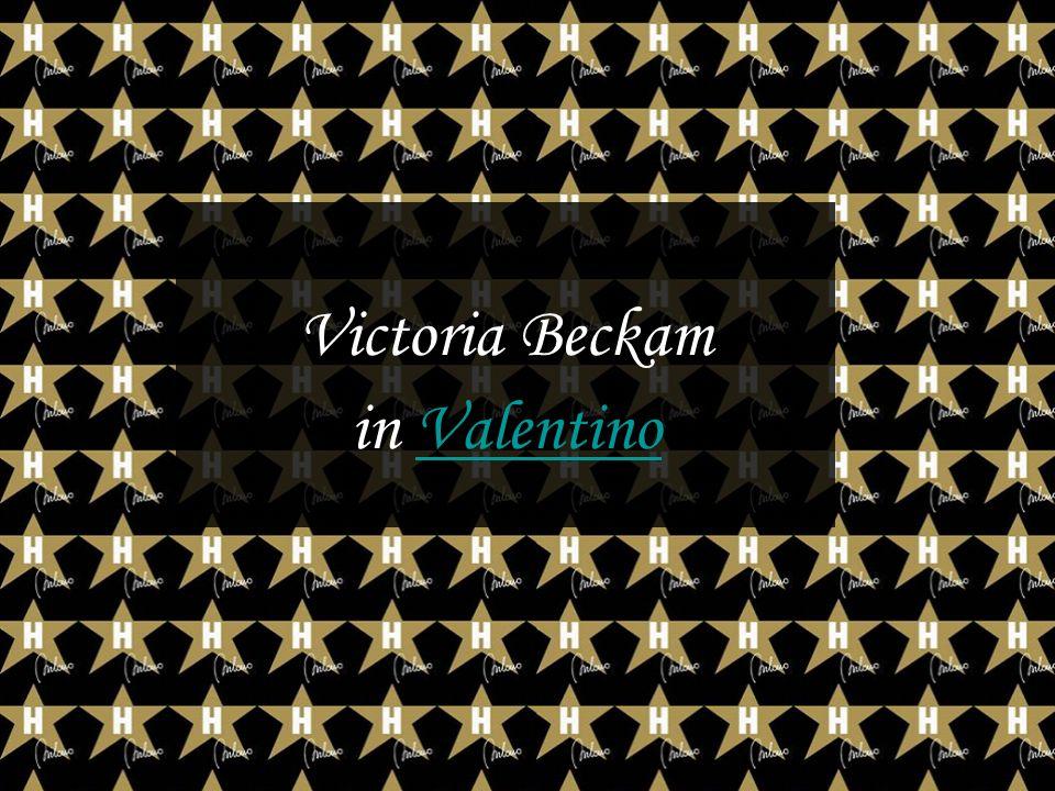 Victoria Beckam in ValentinoValentino