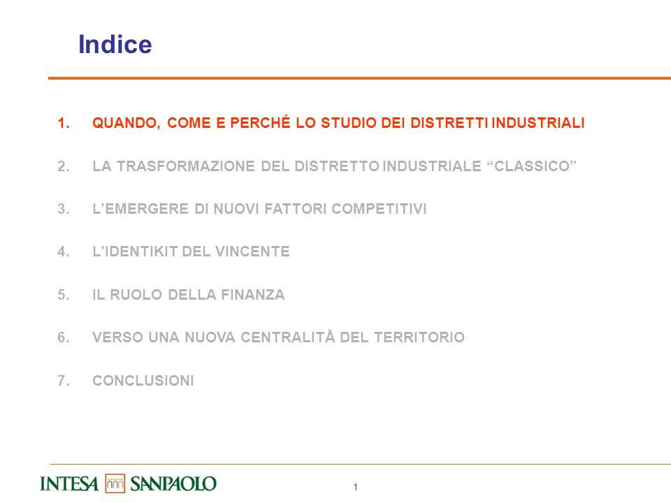 Bari, Università degli Studi, 17 aprile 2008 I distretti industriali del terzo millennio: dalle economie di agglomerazione alle strategie dimpresa (Il