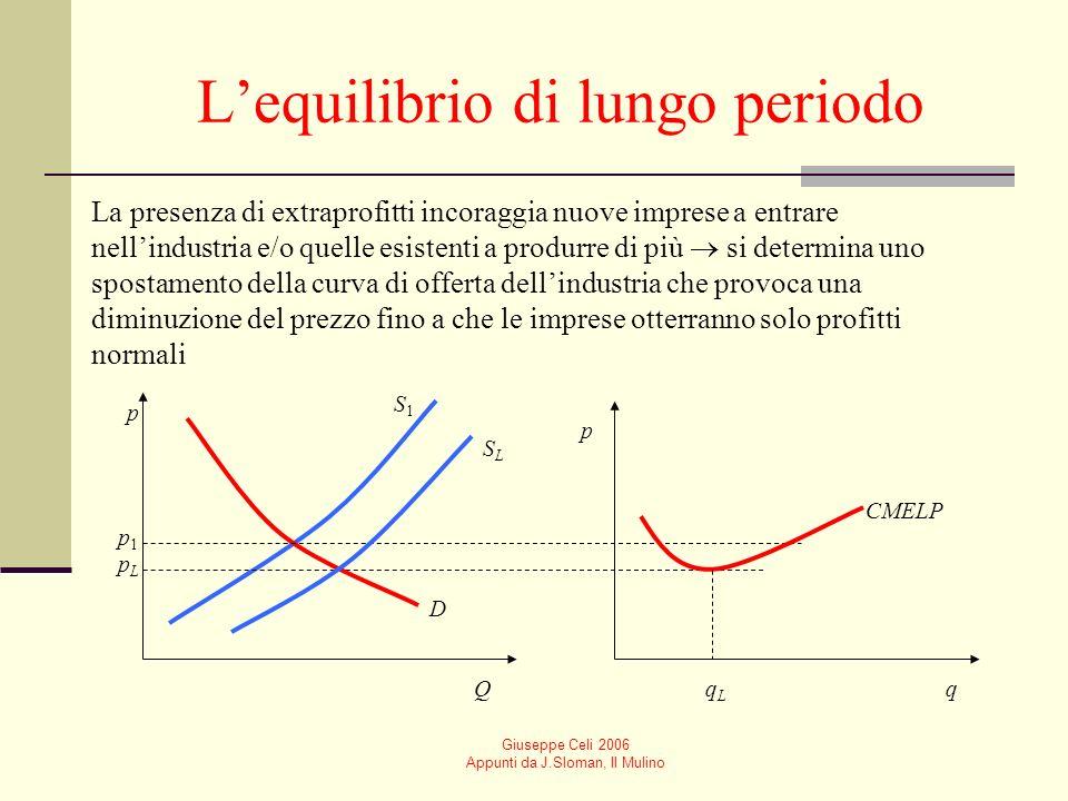 Giuseppe Celi 2006 Appunti da J.Sloman, Il Mulino Obiettivi dellintervento pubblico Equità Massimizzazione del benessere sociale o efficienza sociale
