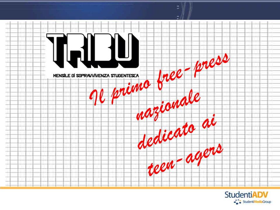 Il primo free-press nazionale dedicato ai teen-agers