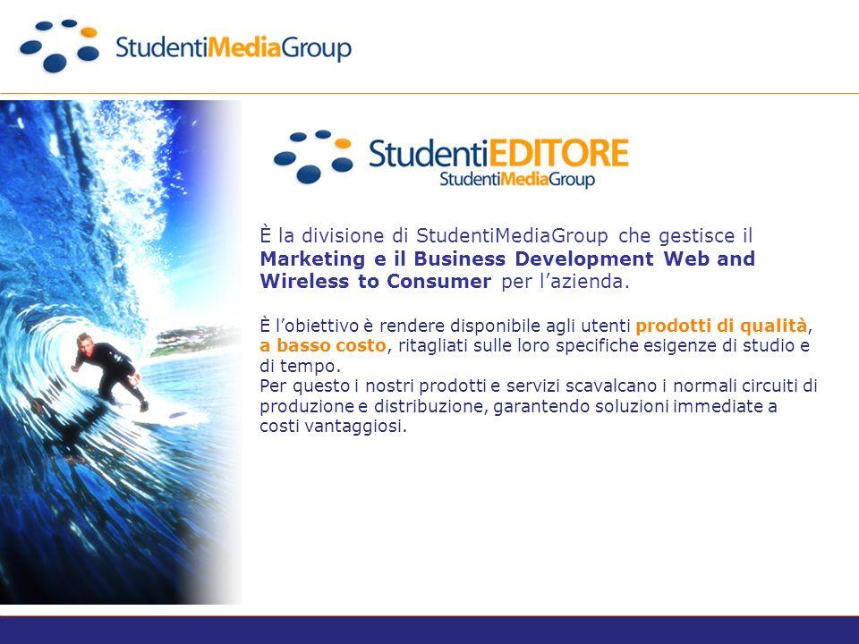 È la divisione New Media Lab di Studenti Media Group.