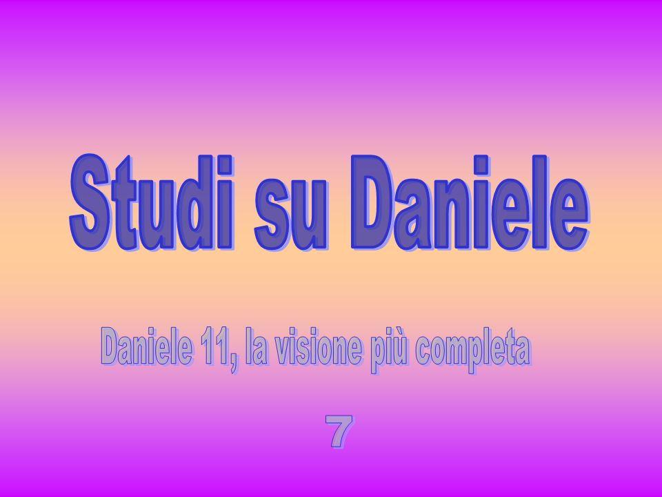 8-910-12 Dan 9:26 Dopo le sessantadue settimane un unto sarà soppresso, nessuno sarà per lui.