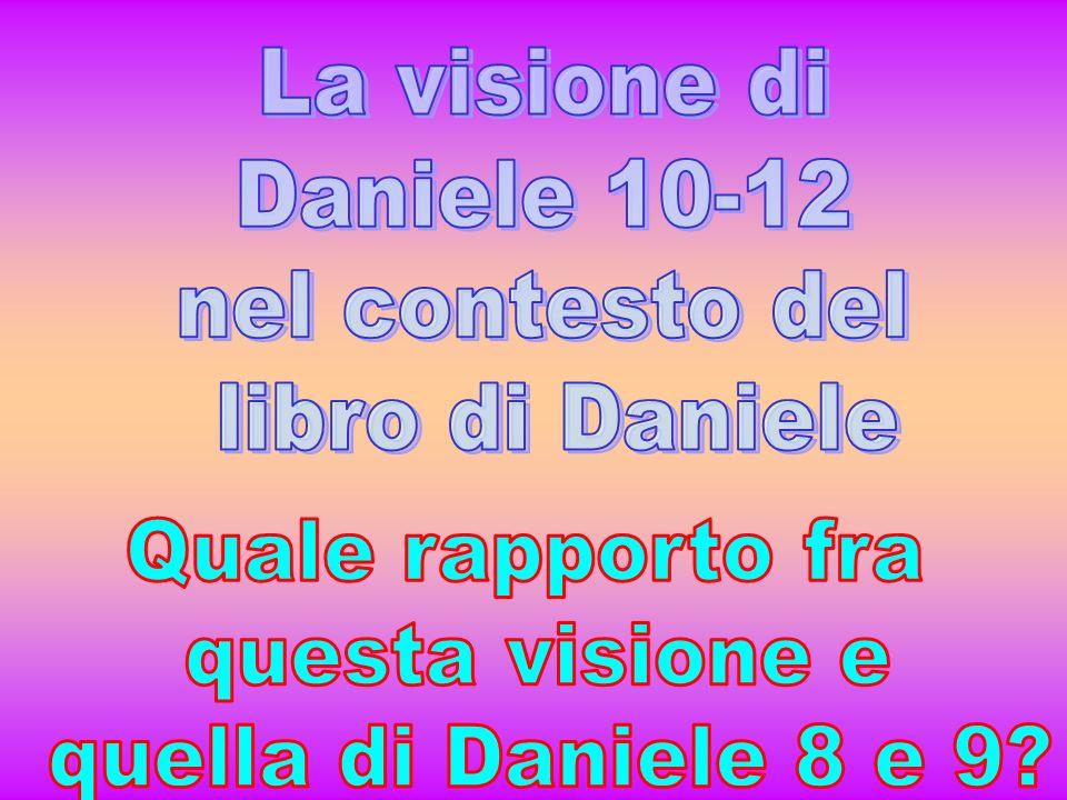 8-9 10-12 Dan 8:10-11 Crebbe fino a raggiungere l esercito del cielo; fece cadere a terra una parte di quell esercito e delle stelle, e le calpestò.