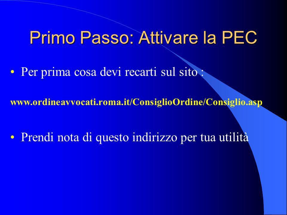 I Quaderni di : La Posta Elettronica Certificata (PEC) Copyright Lista Agire e Informare