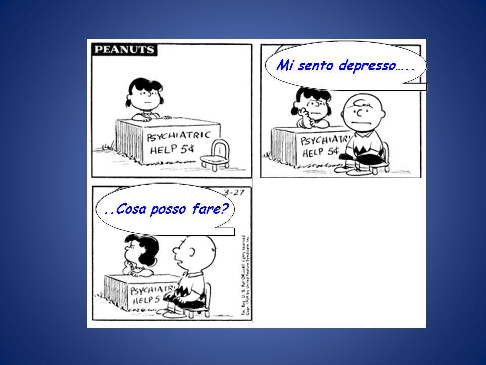 Mi sento depresso…....Cosa posso fare? REAGISCI! 5 CENT, PREGO