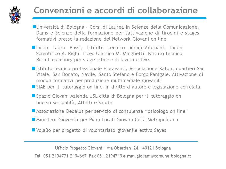 Convenzioni e accordi di collaborazione SIAE per il tutoraggio on line in diritto dautore e legislazione correlata Università di Bologna - Corsi di La