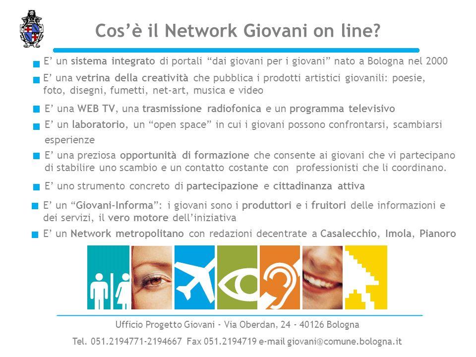 Innovatività del progetto Ufficio Progetto Giovani - Via Oberdan, 24 - 40126 Bologna Tel.