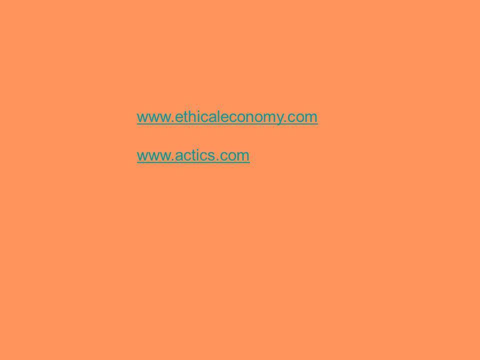 www.ethicaleconomy.com www.actics.com
