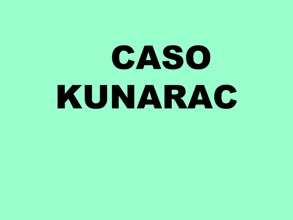 CASO KUNARAC