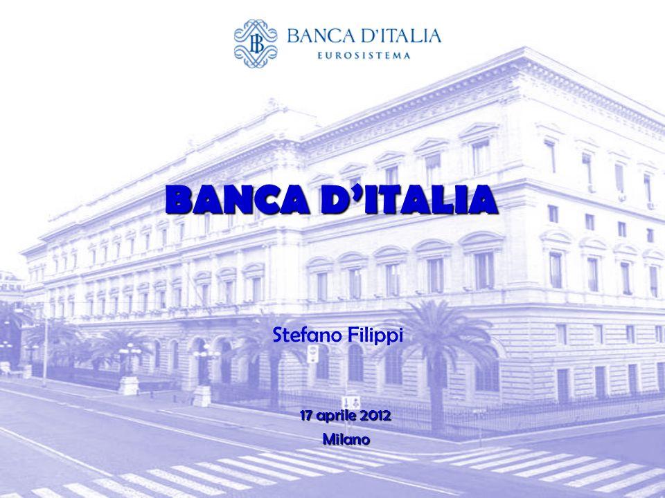 BANCA DITALIA 17 aprile 2012 Milano Stefano Filippi