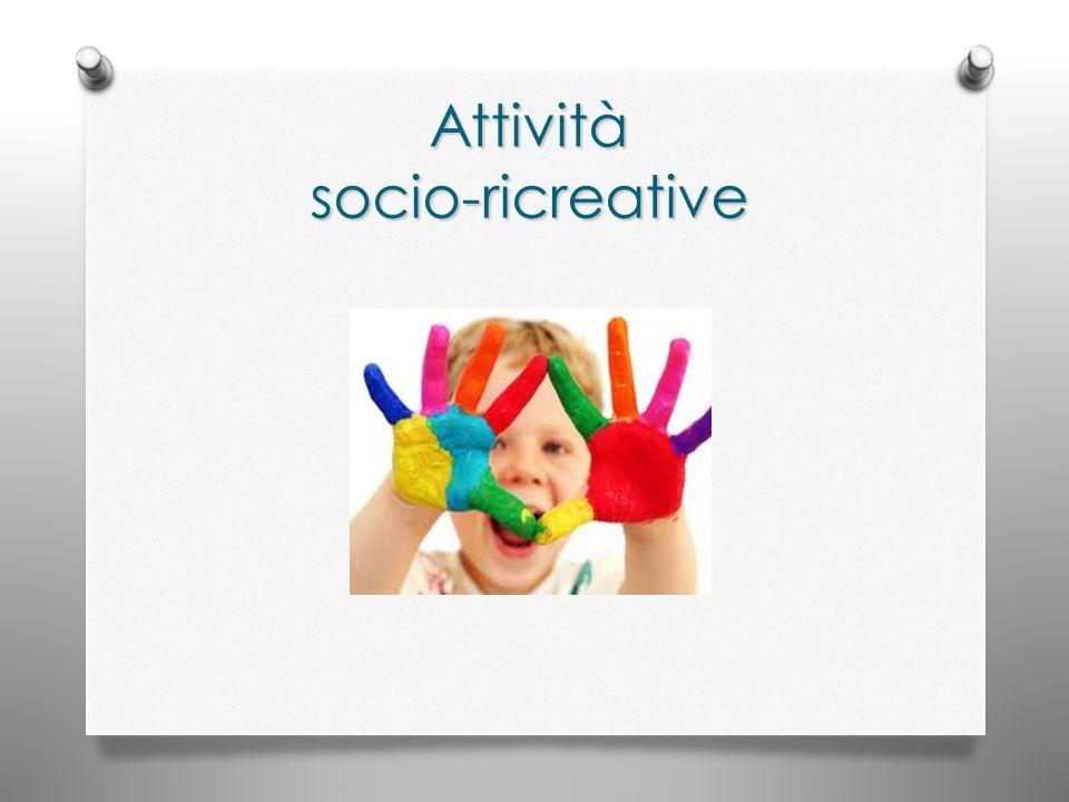 Attività socio-ricreative