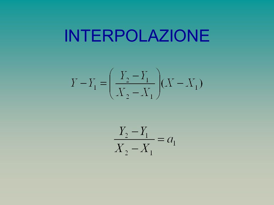 CORRELAZIONE E REGRESSIONE Date due variabili X e Y costruiamo un diagramma di dispersione con i loro valori.
