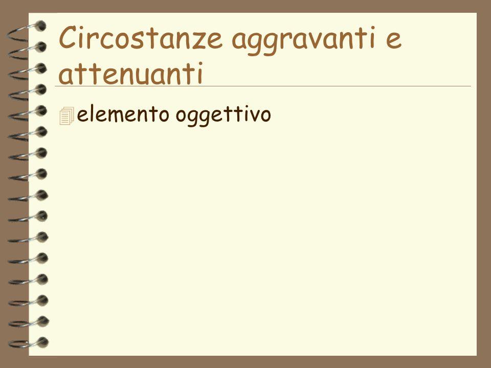 4 elemento oggettivo