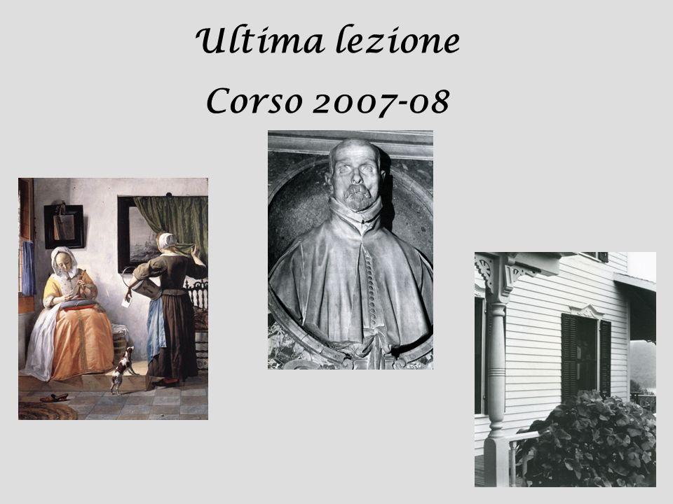 Ultima lezione Corso 2007-08