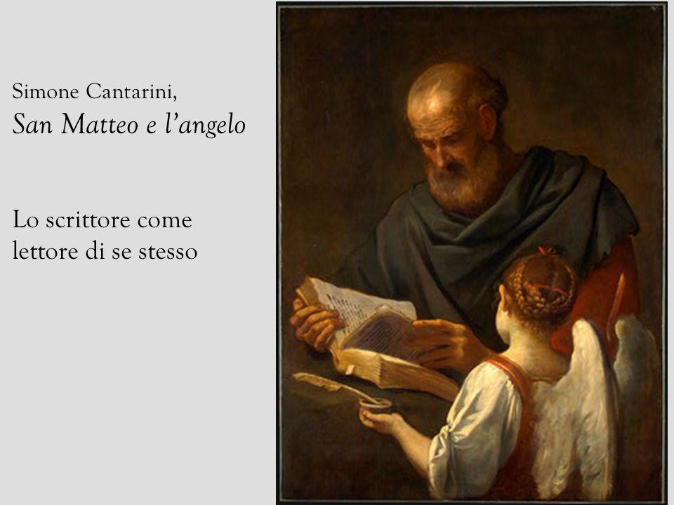 Simone Cantarini, San Matteo e langelo Lo scrittore come lettore di se stesso