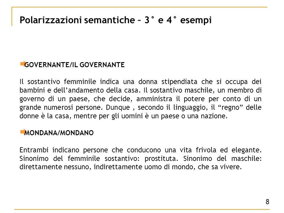 GOVERNANTE/IL GOVERNANTE Il sostantivo femminile indica una donna stipendiata che si occupa dei bambini e dellandamento della casa.